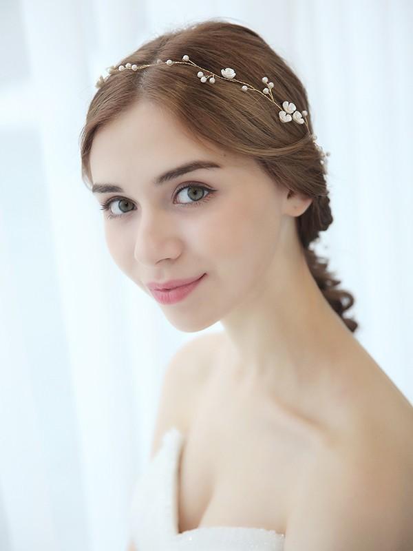 Elegant  Perler Headpieces