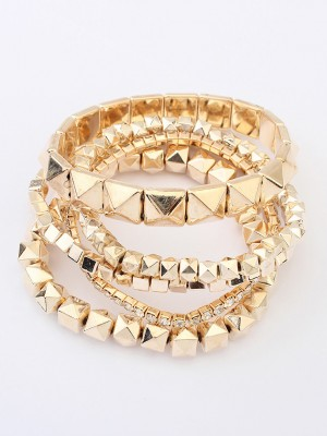 Occident Exotic Three-dimensional Small blocks Hot Sale Armbånd