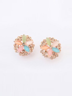 Occident Fashionable Five Blomsts Exquisite Hot Sale Ear Clip