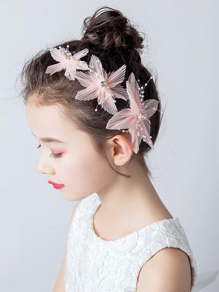 Beautiful Cloth With Imitation Pearl Headbands