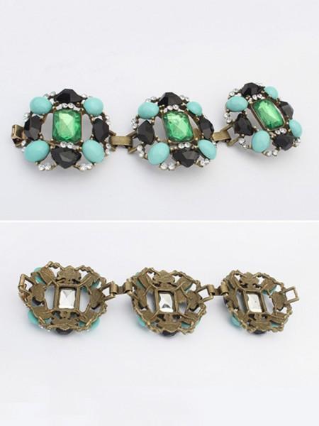Occident Stylish Emeralds Luxurious Hot Sale Armbånd