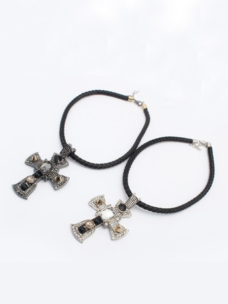 Occident Punk Retro Cross Hot Sale Halskjede