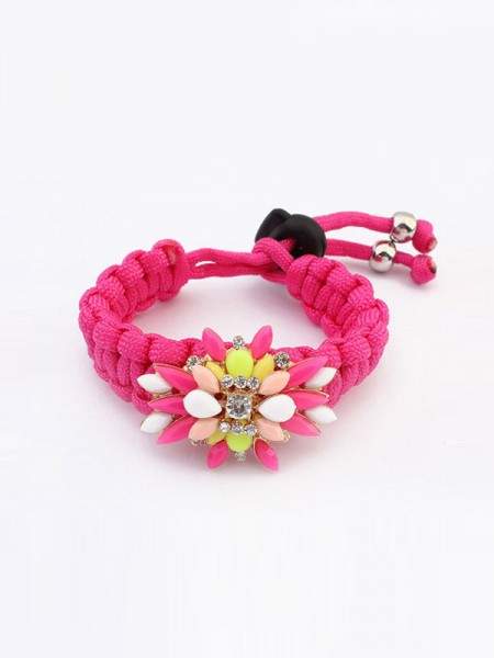 Occident Candy Colors All-match Woven Hot Sale Armbånd