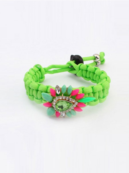 Occident Ethnic Customs Woven Colorful Hot Sale Armbånd