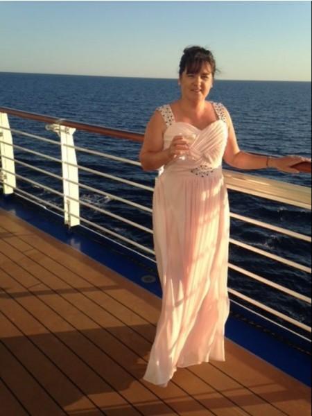 A-Linje/Prinsesse Chiffong Stropper Ermeløs Perlebesydd Gulvlengde Kjoler til Brudens Mor
