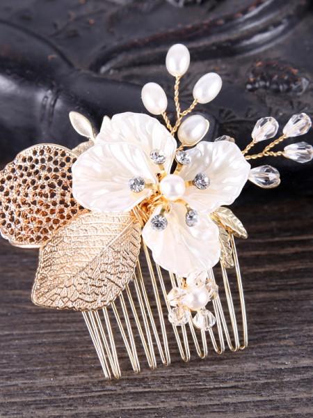 Elegant Crystal Headpieces
